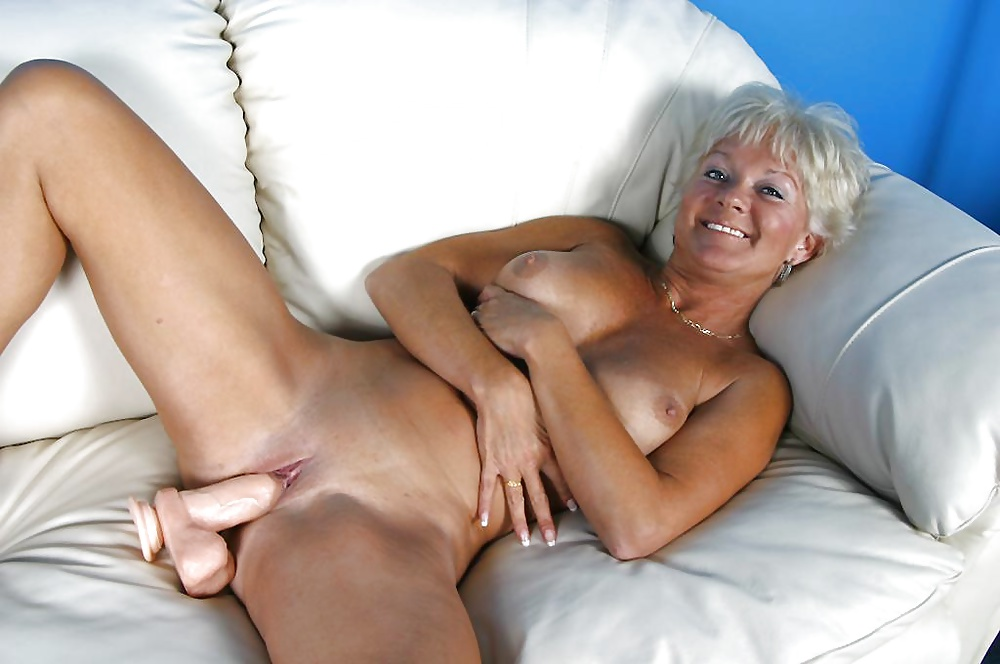 Nude granny with sex toys photos, plastered in spunk