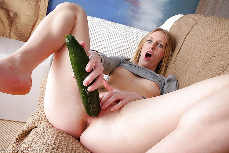 Girls fucking vegetables 12