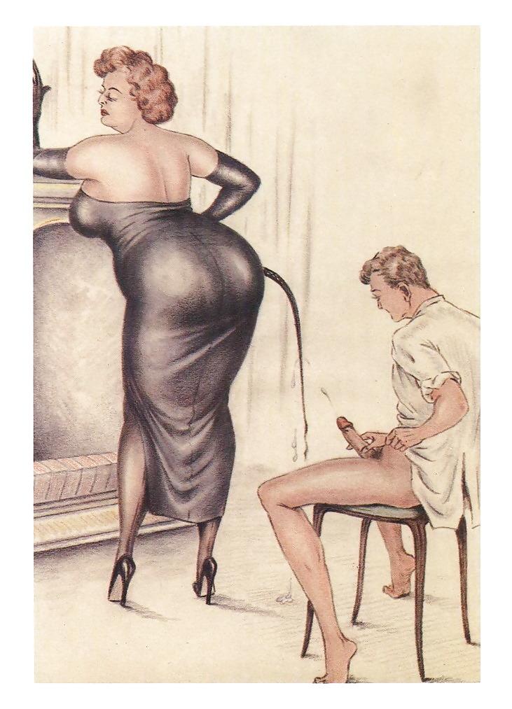 Винтаж рисованные порно, порно бисексуалы порно