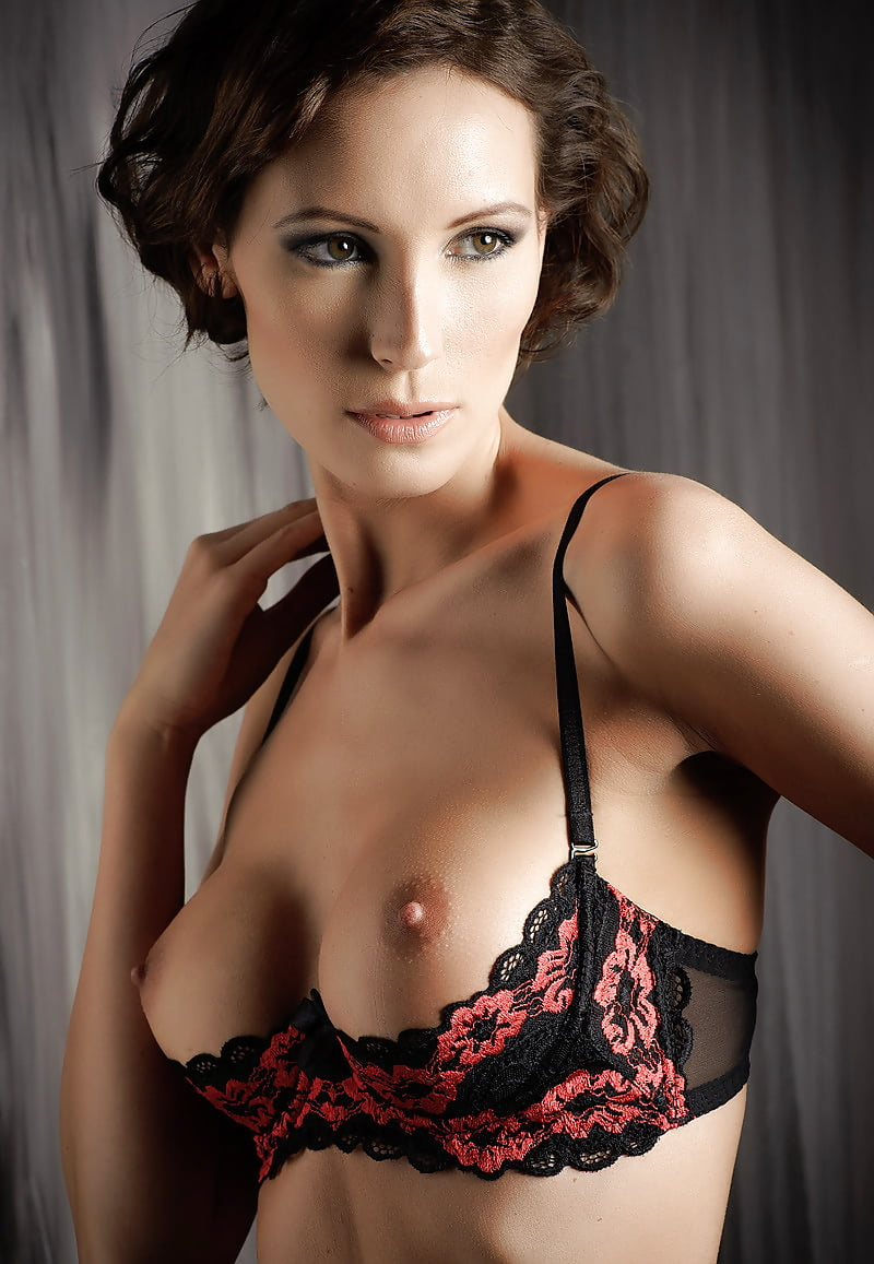 Hot naked lingerie models