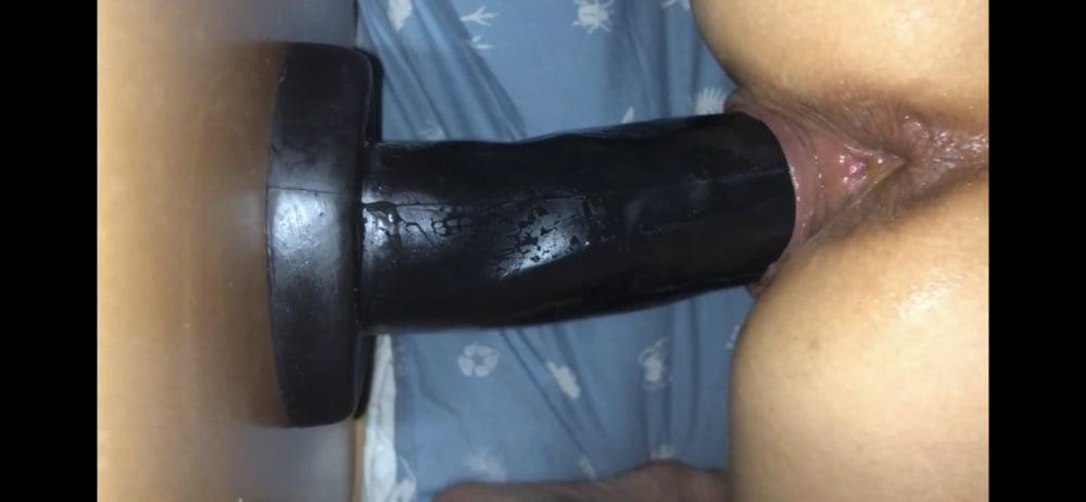 This slut rides a bone-7559