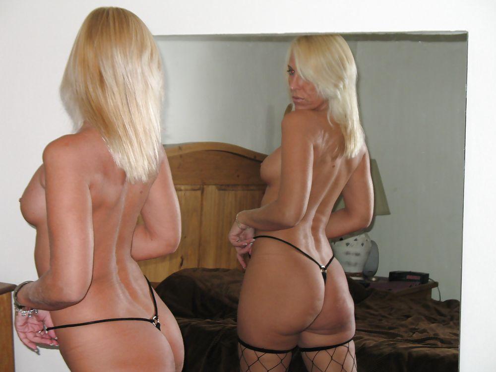 Slutty Big Ass Wife Wearing Nylons, Slutty Heels And