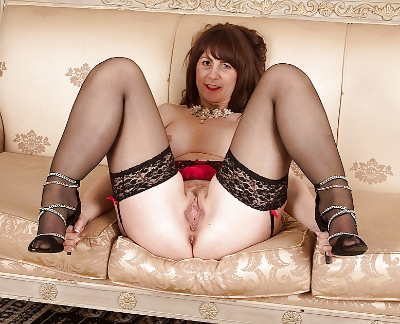 Mature Wife Super Seductive Striptease And Horny Solo Play