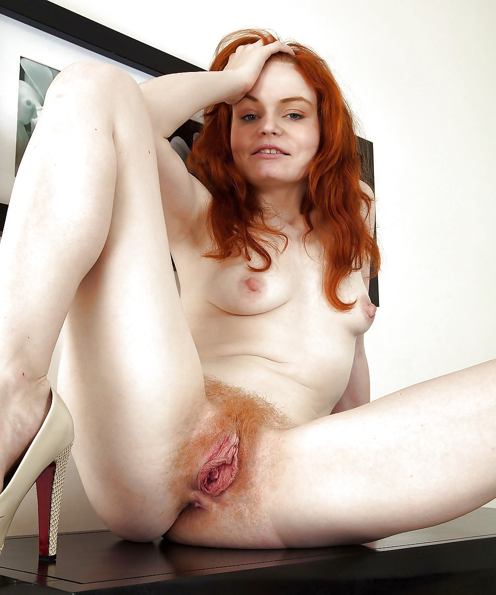 Asian model naked hairy red