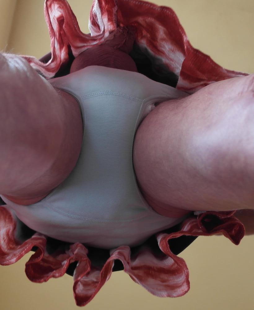 Girl with panties on