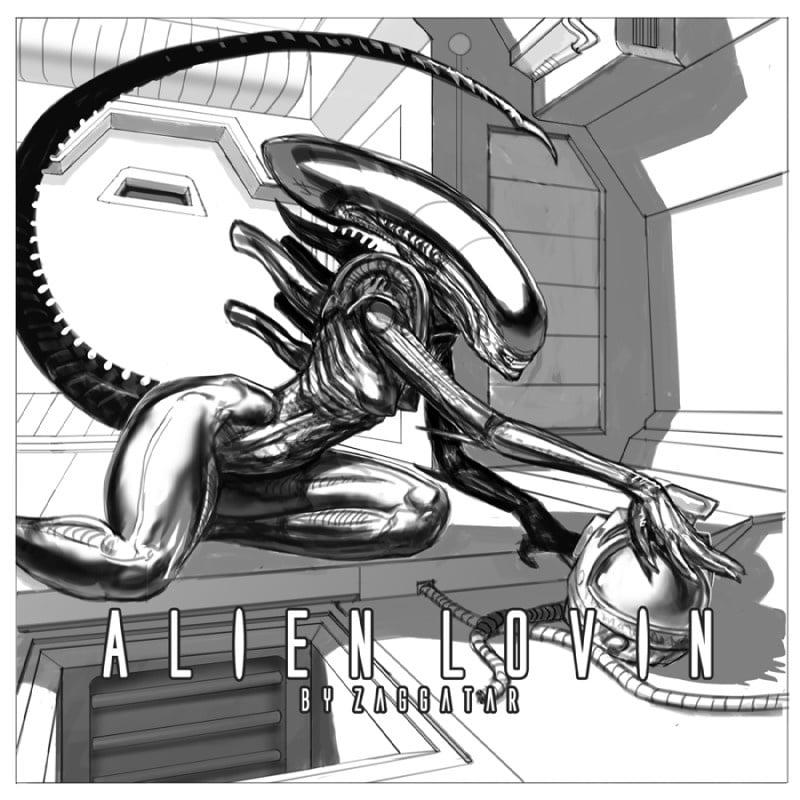 Cartoon porn alien-4163