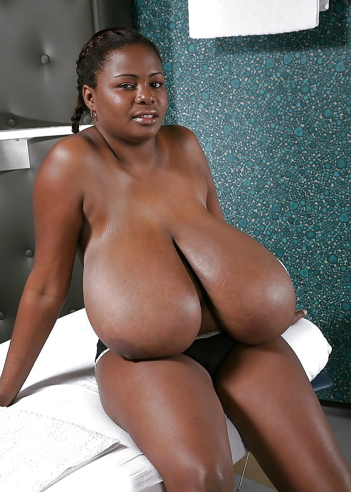 Huge Natural Tit Ebony Fuck