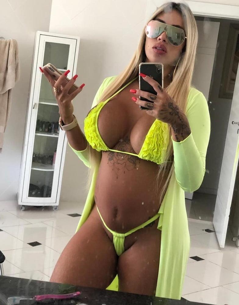 Blonde brazilian girl