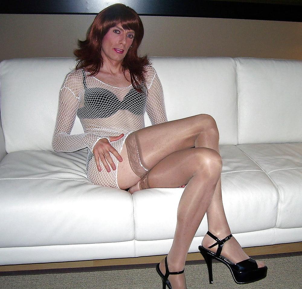 Pantyhose crossdresser bondage free sex pics