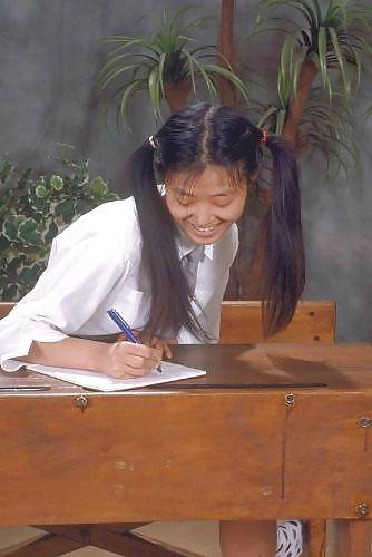Lesbian schoolgirl and teacher