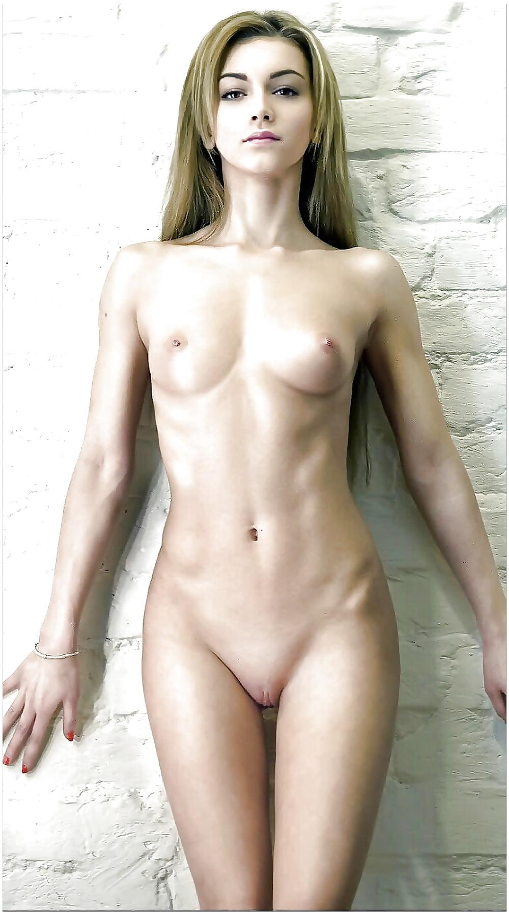 Nude smooth skinny #12