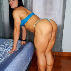 Muscular MILF With Big Booty