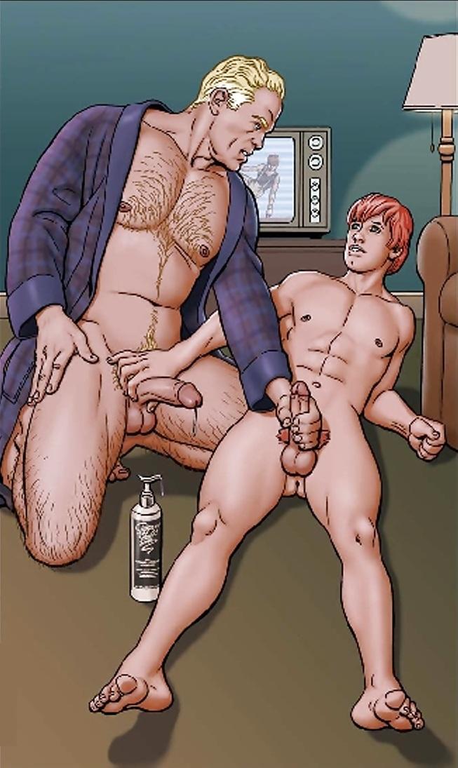 Hardcore Gay Cartoons, Comics,  Drawings - 380 Pics -5588