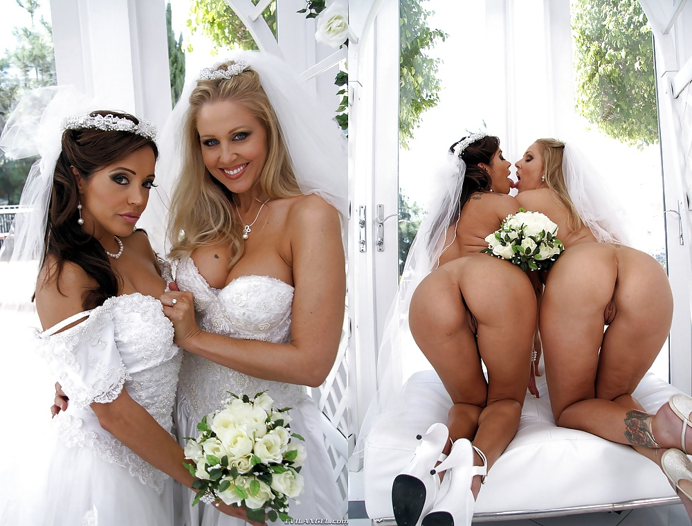 When weddings get naked