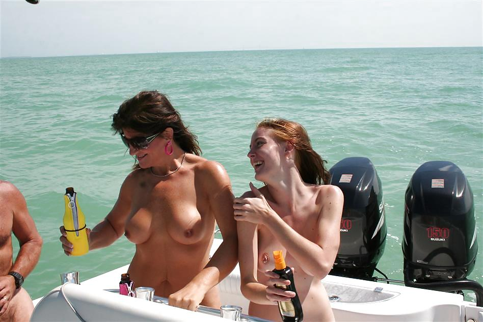 Fishing trip sex