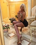 VERY HOT SERBIAN MILF private photo's (nylon, high heels)(9)