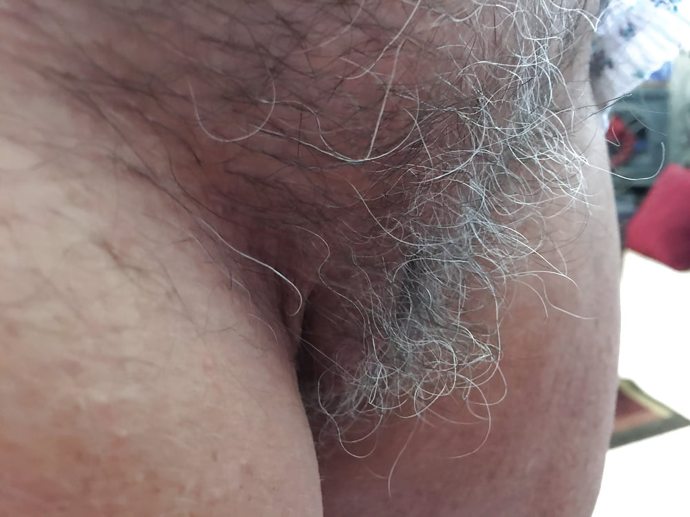 Girls with gray hair on pussy