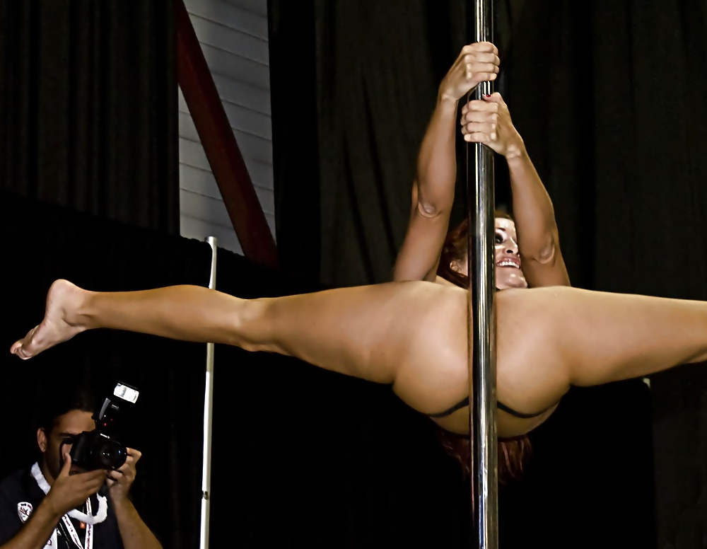 Hot girl strip dance naked