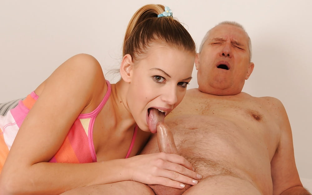 Aged girl old men tongue in pussy boys