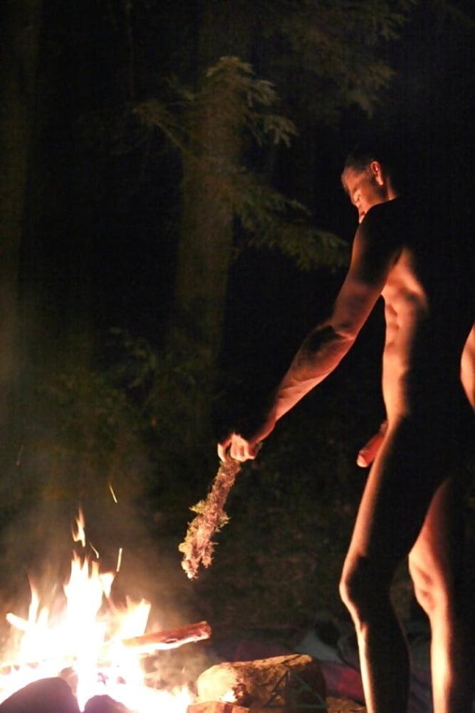 Girl scouts nude around a campfire, miley cyrus sex y nnde puren