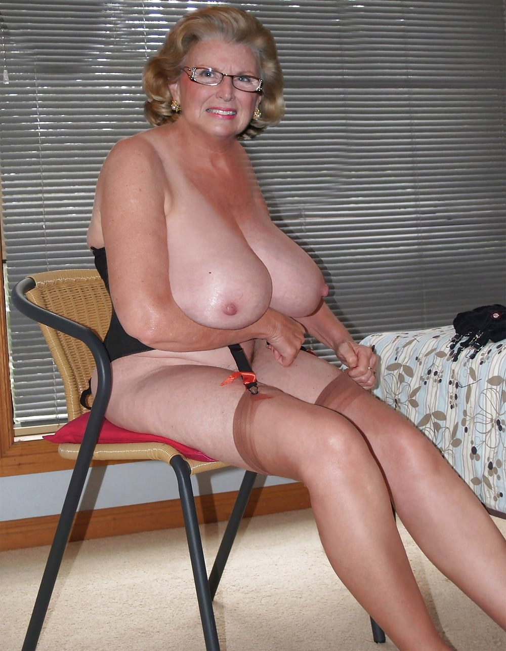 Big tit grannies naked, wwe dick slip