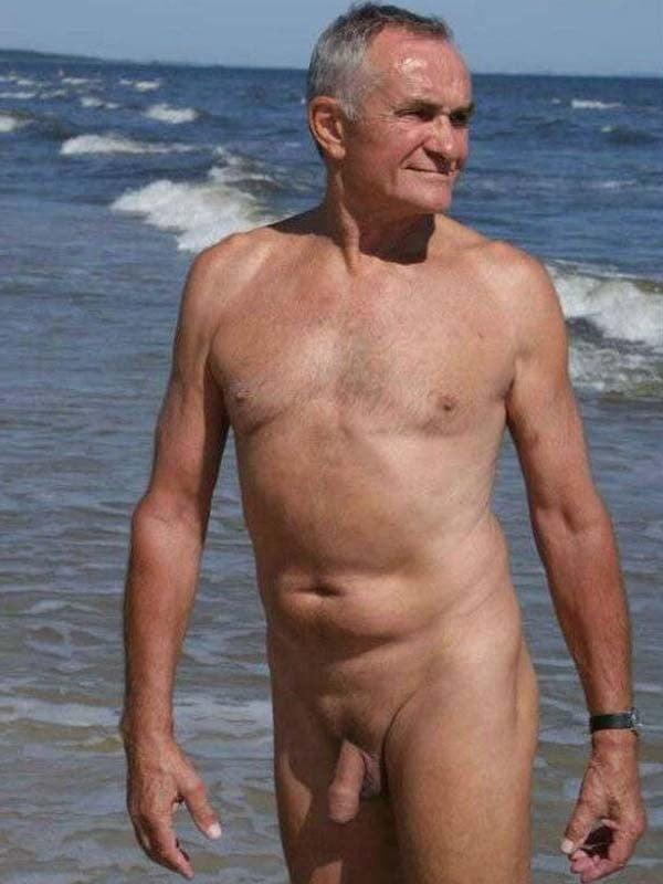 Old nude nudist men — 14