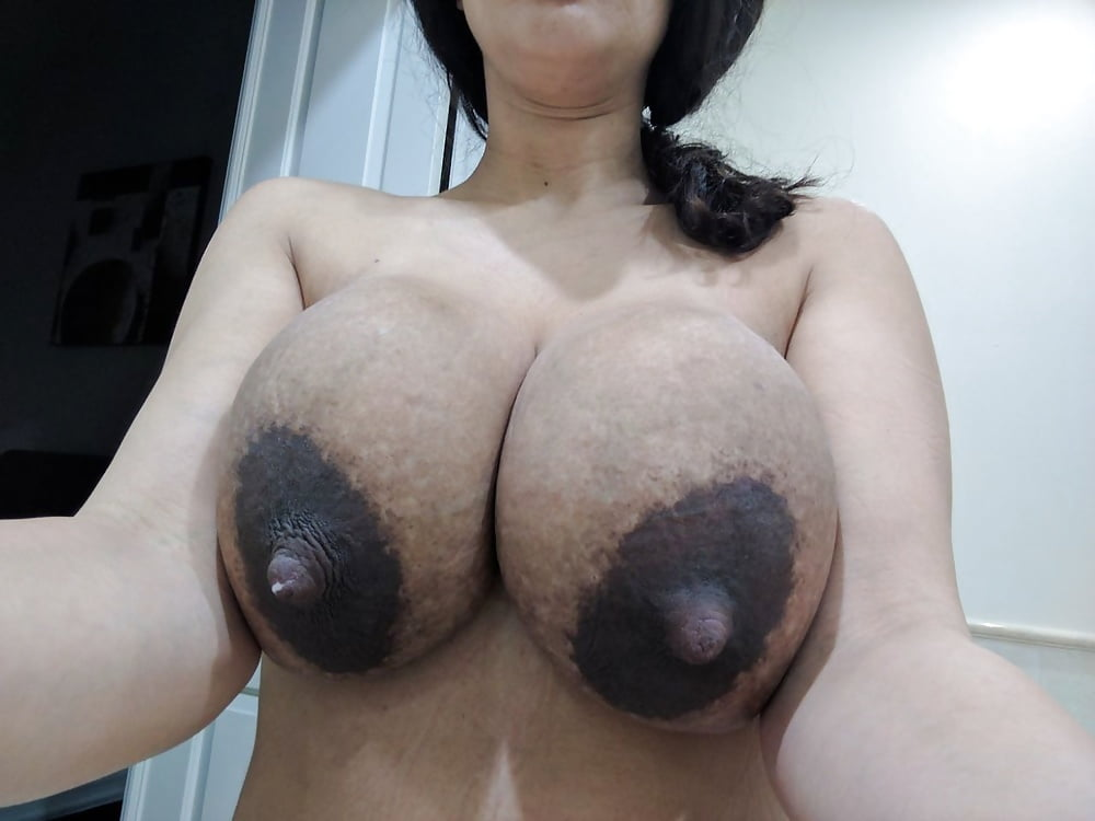 Black boob lactating