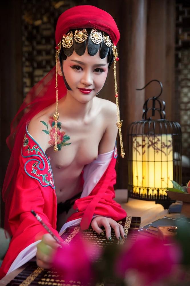 Nude groom traditional