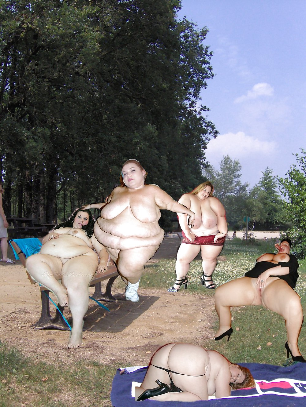 Just Chubby And Curvaceous Women