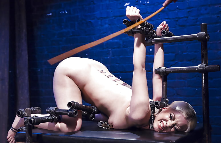 Girl stretched out bdsm