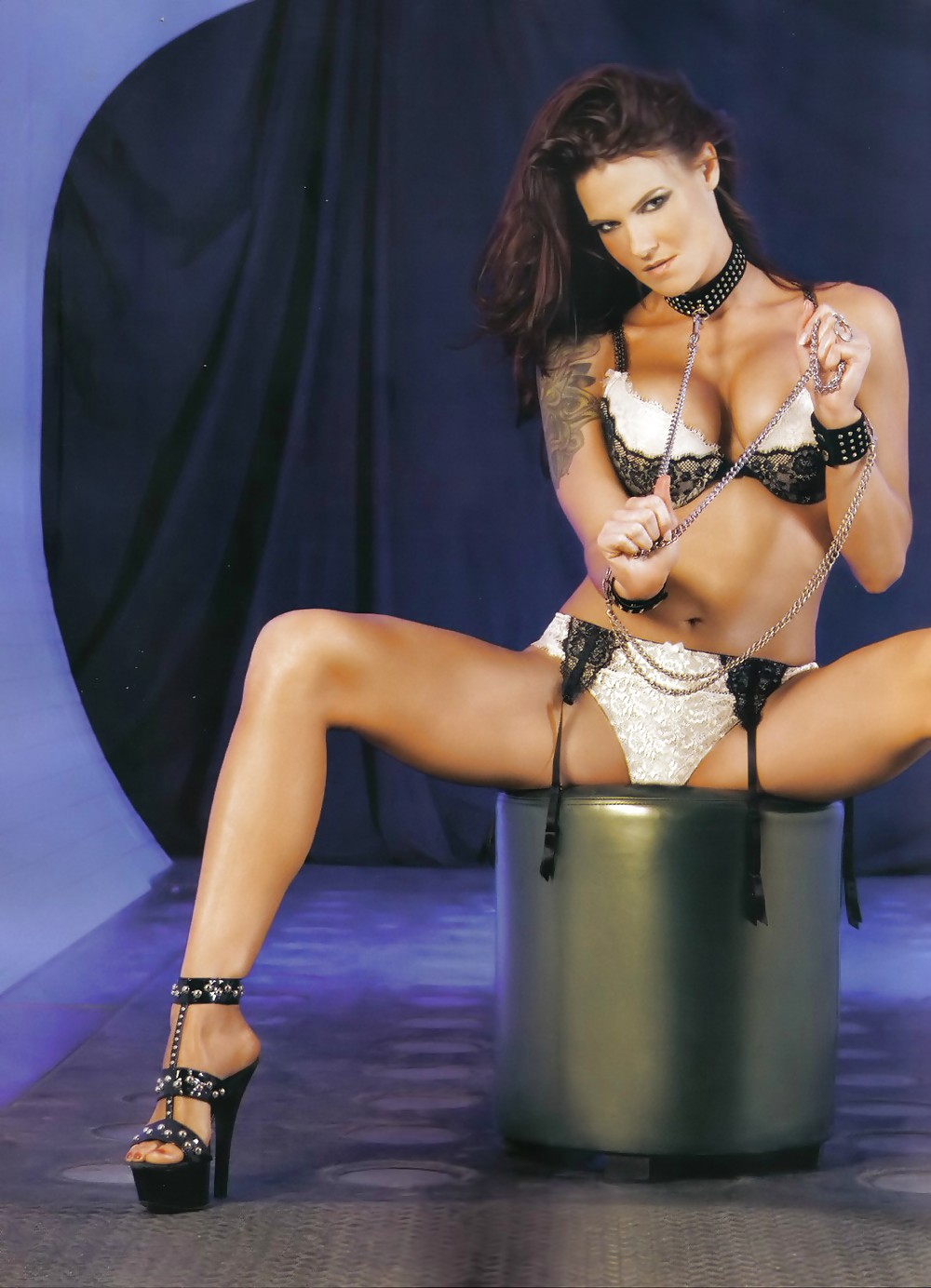 Hot Recent Photo Of Former Wwe Diva Amy Lita Dumas