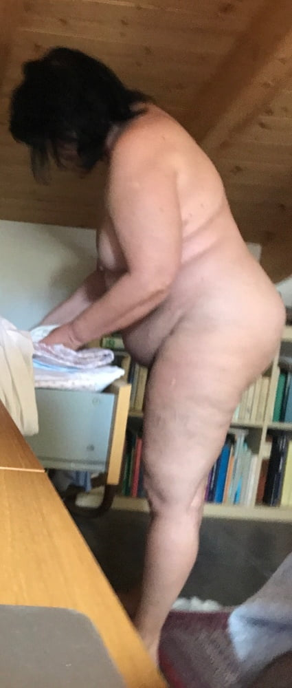 Naked old chubby women