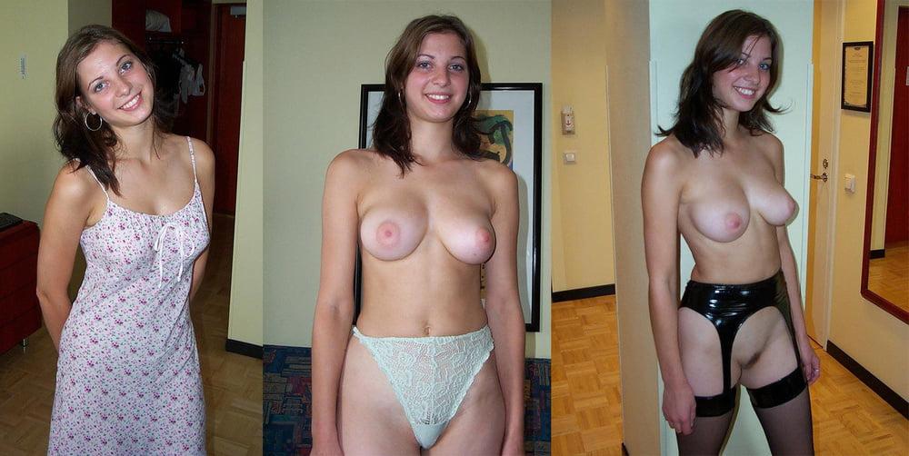 And undress wife naked hub real ebony