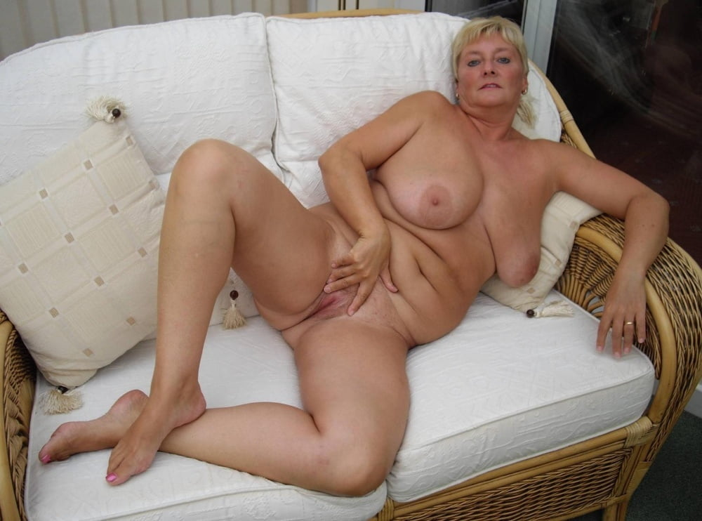 Amazing mature grandmother