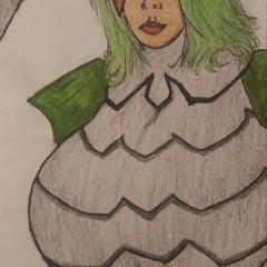 Character Drawings: Masuta Slaughter