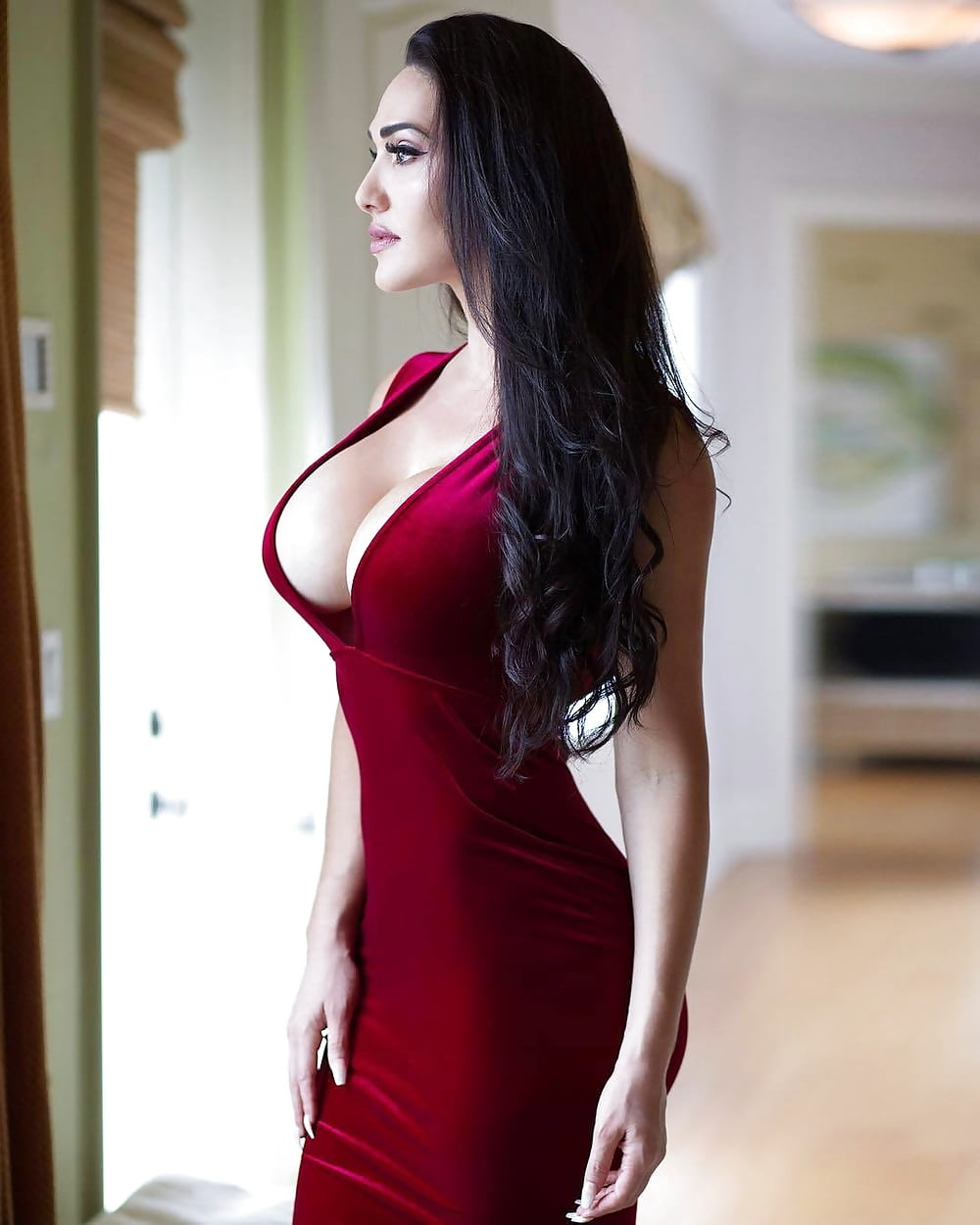 Sex big boobs in tight black dress hairiest pussy free