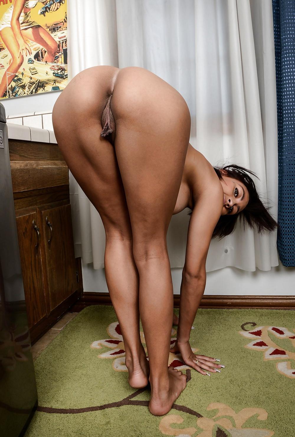 Big girls bent over naked