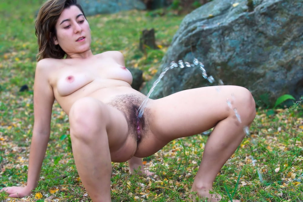 Private mature peeing