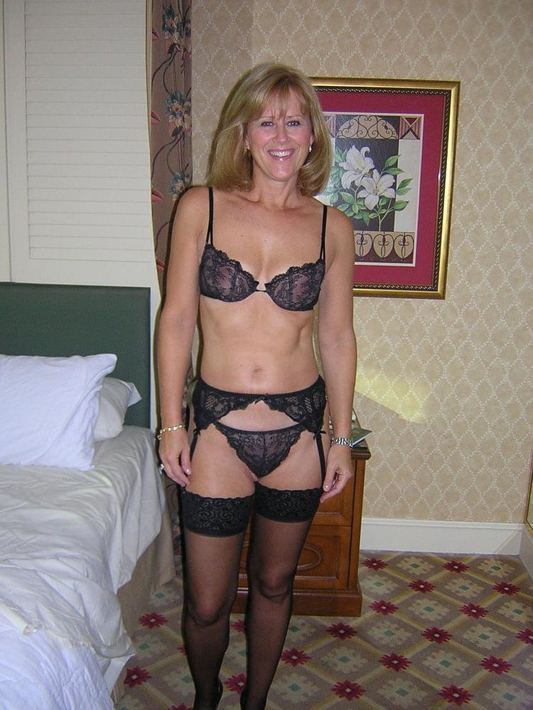 Nude moms in lingerie