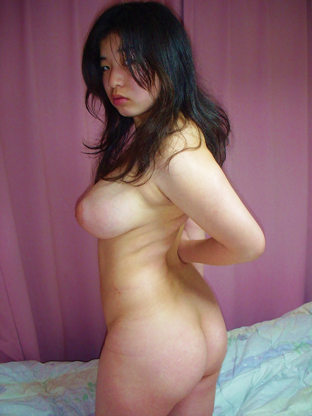 Naked curvy asian amateurs