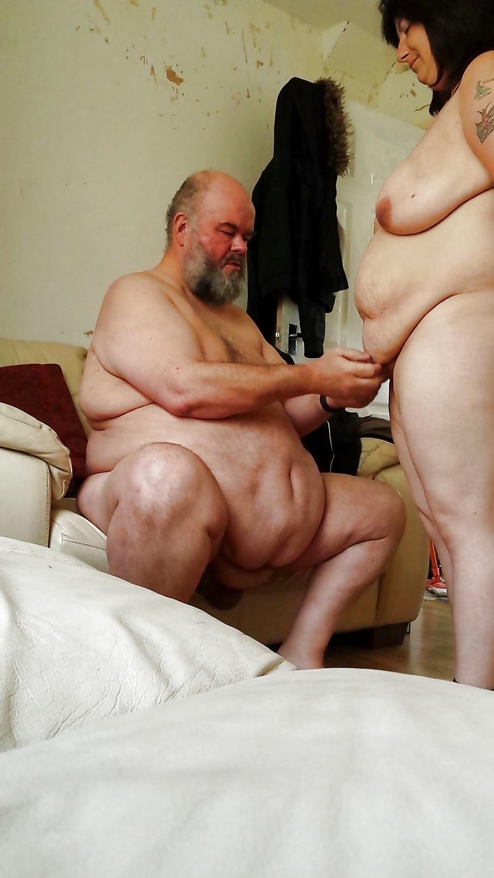Skinny Fat Man Nude