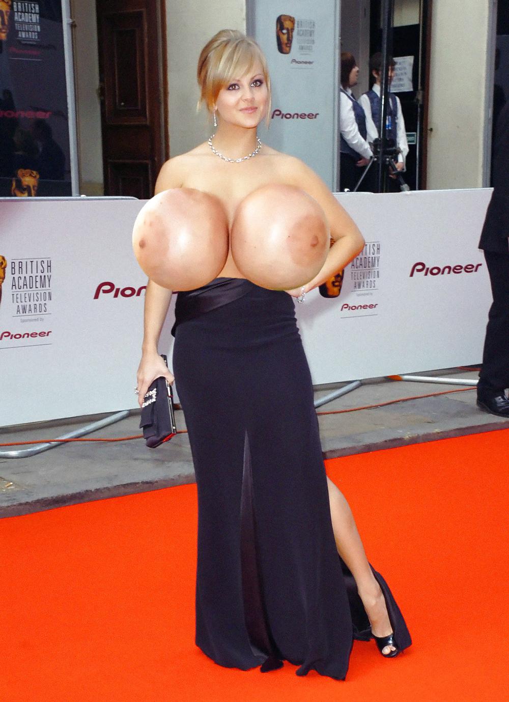 Big boobs celebs
