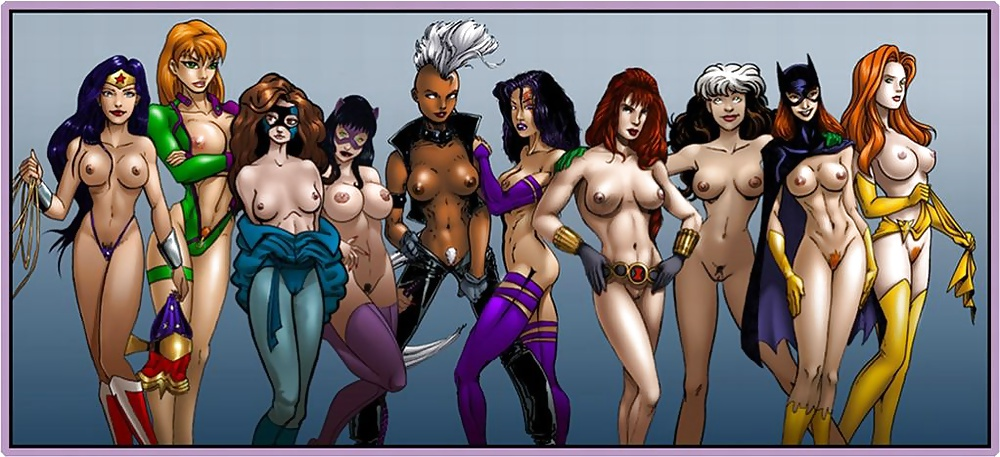 The hottest women in marvel nude