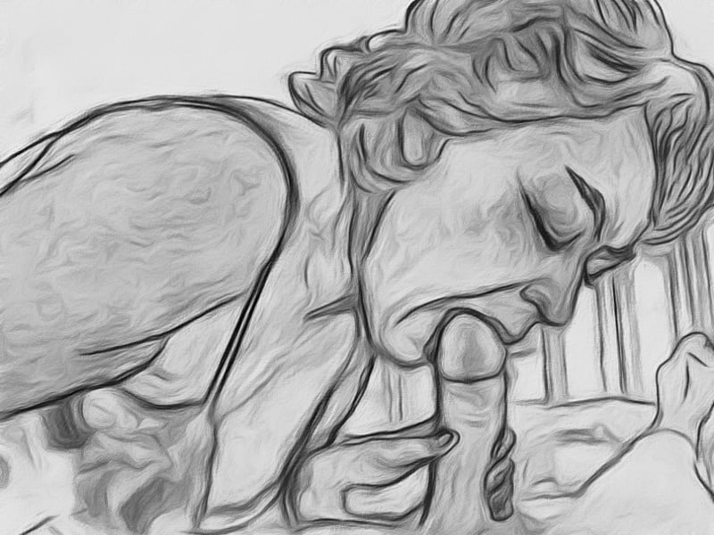 Mom And Son Porno Drawing
