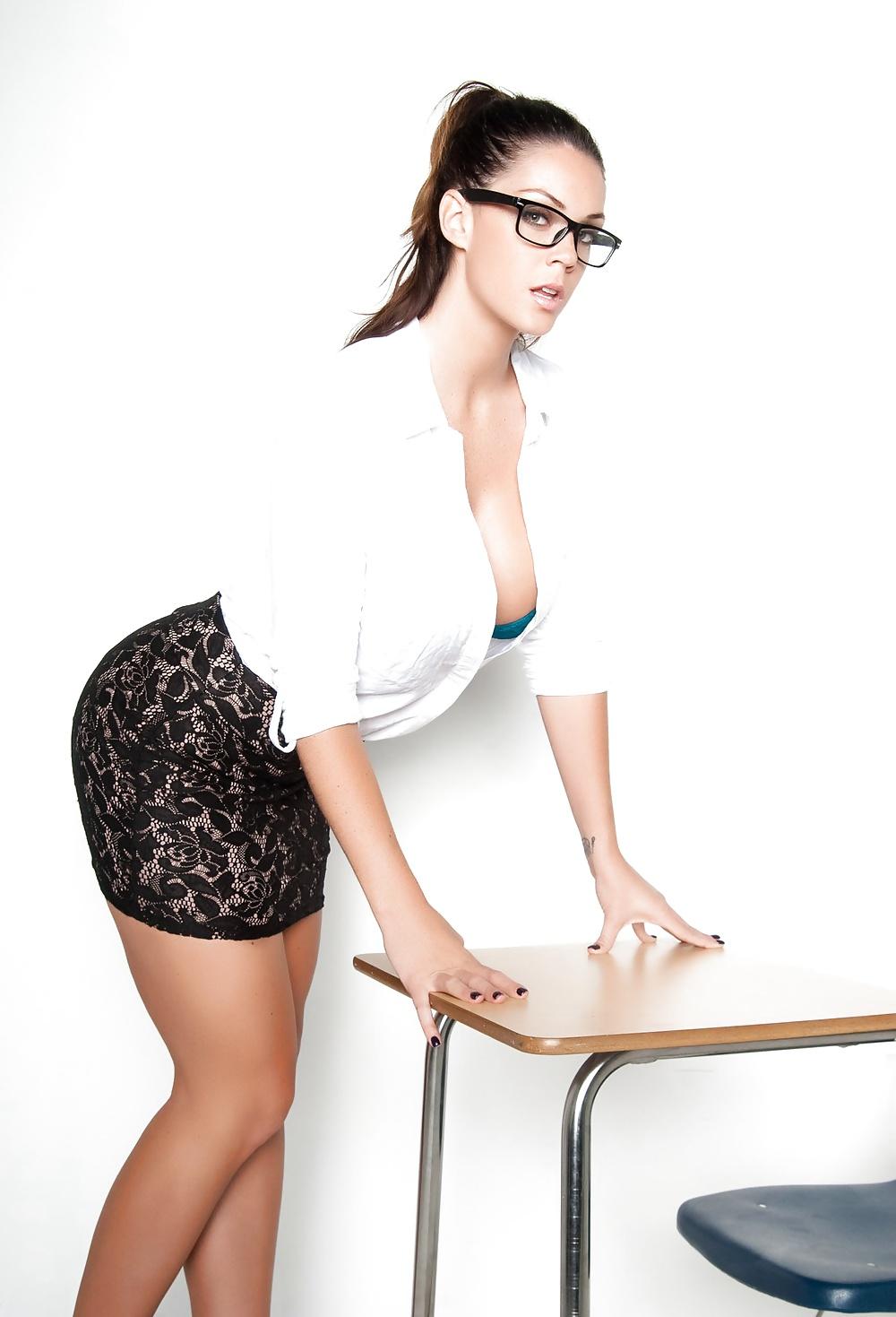 Big tit office sex — photo 12