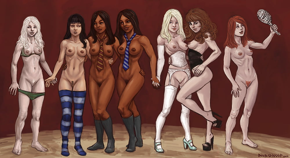 women-naked-the-girls-of-harry-potter-nude-biggest-human-dick