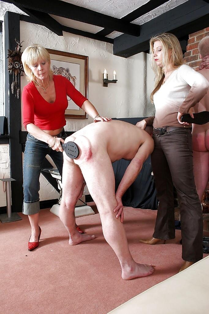 Lorelei lee spanking female domination cfnm