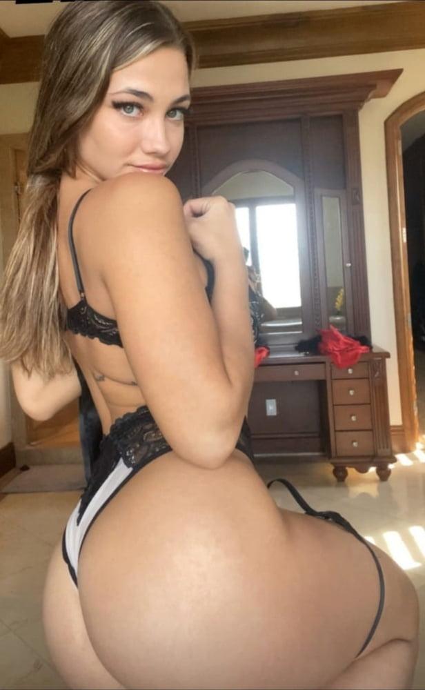 C3L1NA SMITH naked.. Busty big natural pierced nips- 43