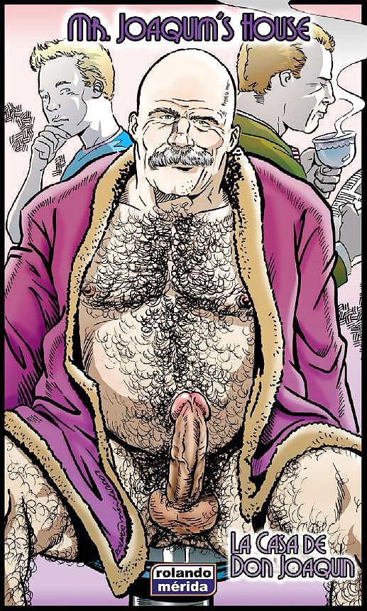 Rolando merida comics