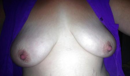 Sexy wife unbuttoned
